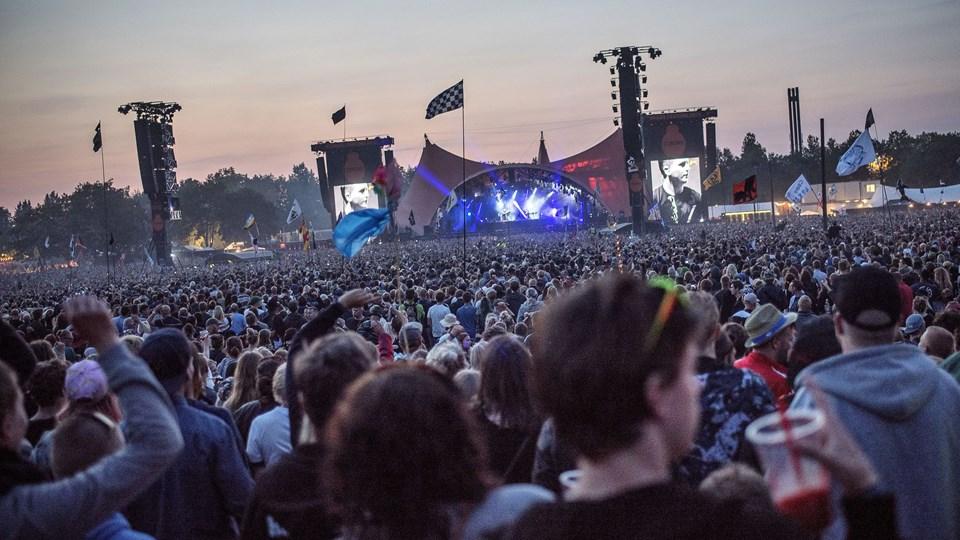 Roskilde Festival Foto: Scanpix/Mathias Løvgreen Bojesen