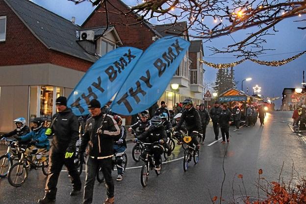 THY BMX var også repræsenteret. Foto: Hans B. Henriksen Hans B. Henriksen