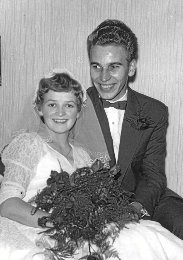 Inger og Holger Graversen anno 1958. Foto: Privat.