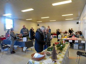 Julemarkedet i Tranum var pænt besøgt