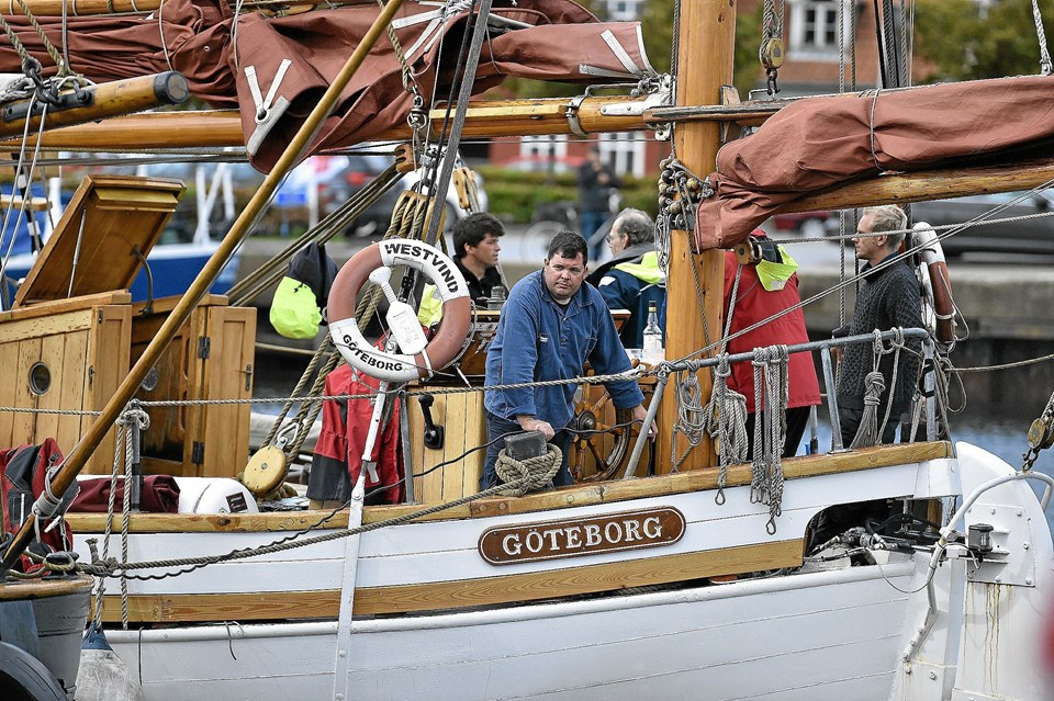 Galeasen Jenina fra Gøteborg.Foto: Ole Iversen