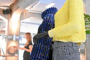 Vild med garn: Mød strikkekendisser til Fiberfryd