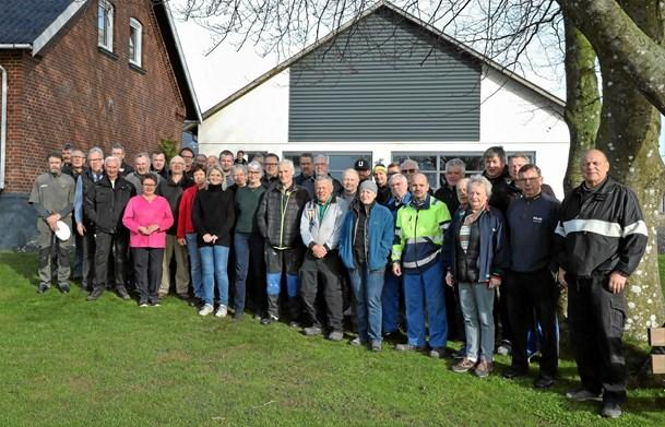 40 frivillige finpudsede golfanlægget i Hobro