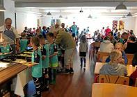 Fodboldskole med besøg fra AaB & FC Thy