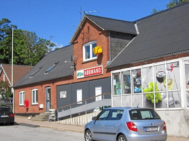 Købmandsbutik i    Rørbæk lukker
