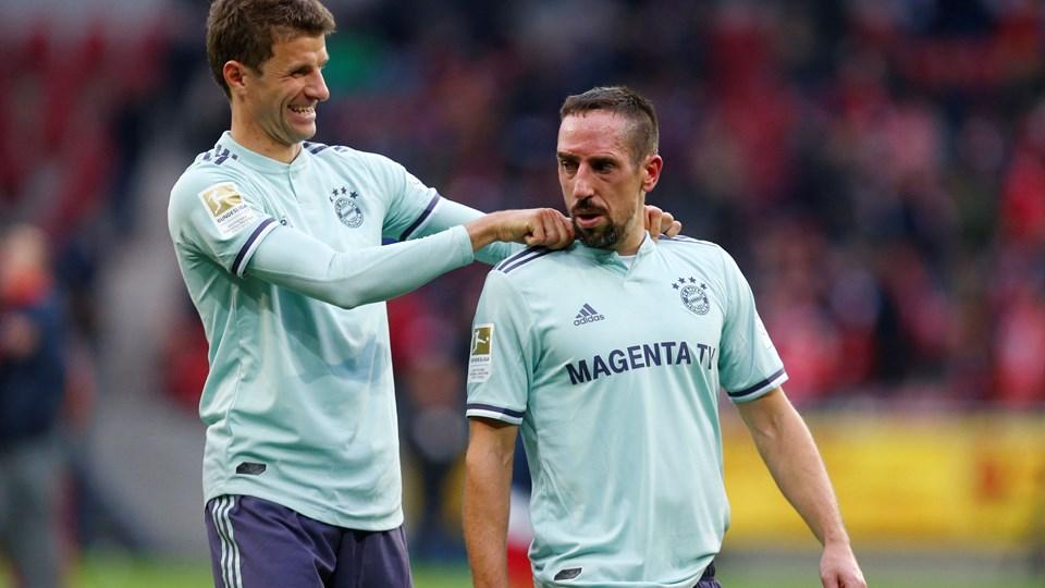 Bayern München har efter lørdagens sejr 19 point efter 9 kampe i Bundesligaen. Foto: Ralph Orlowski/Reuters