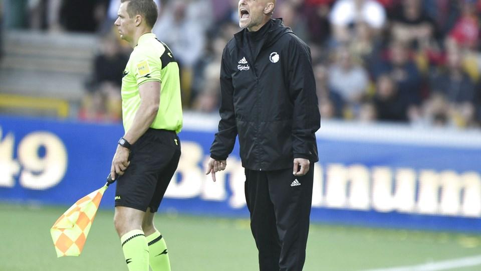 Ståle Solbakken og FC København går på sommerferie uden medaljer. Foto: Scanpix/Tariq Mikkel Khan