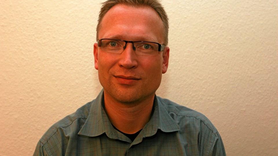 Lars Hvilsted, Skørping – ny socialrådgiver hos 3F Midtfjord. Foto: Martin Glerup