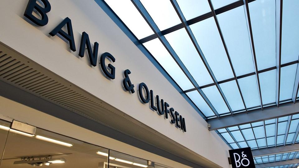 Bang <ncs_amp/> Olufsens nye direktør, svenskeren Kristian Teär, har en baggrund hos selskaber som Logitech, Sony og Ericsson. (Arkivfoto)