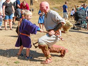 Til vikingetræf på Sildehagen