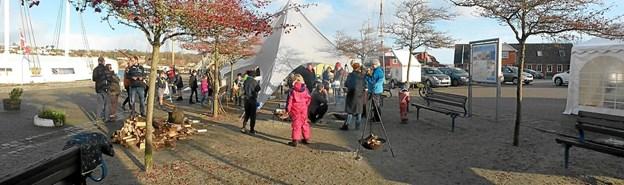 De Blå Spejdere i Hobro inviterer lørdag 24. november til julemarked ved Den Blå Fisk på havnen i Hobro. Privatfoto