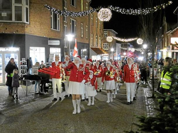 Julen kom til Hadsund