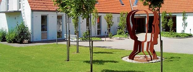 Røde Kors Hjemmet i Løgstør - fejrer 14. september, at det i år er 50 år siden, hjemmet flyttede til den nuværende adresse. Privatfoto