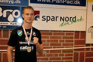Trods ny vægtklasse: Femte NM-titel til Pandrup-bokser