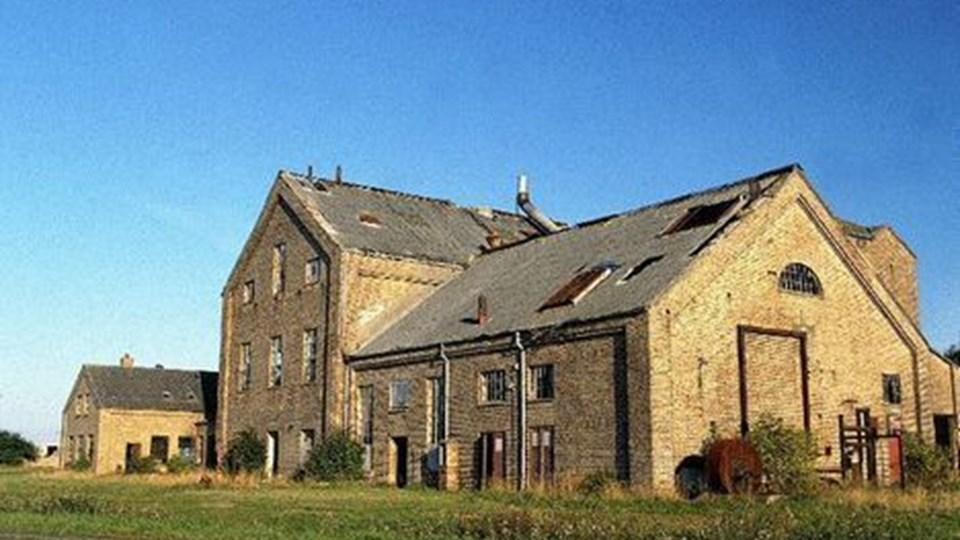 Ildsjæle drømmer om at se ruinen Kaas briketfabrik genvinde fordums storhed. Den lukkede i 1966.