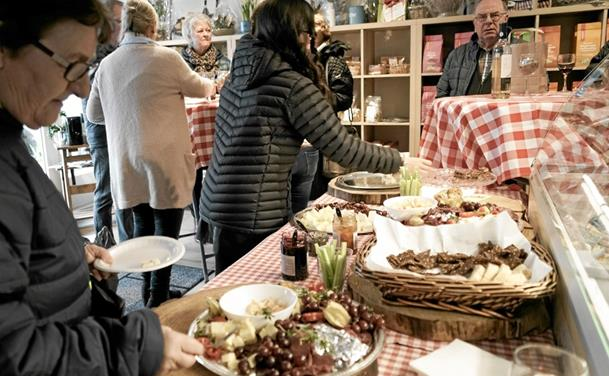 Oste - og delikatessebutik i Hirtshals