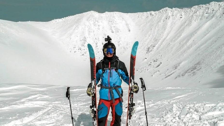 På job som skiinstruktør i Japan