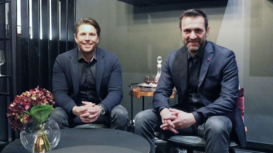 Kristoffer Glerup (tv.) og Peter Rasmussen er indehavere af Sackit. PR-foto