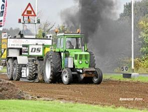 Flot placering ved DM i traktortræk