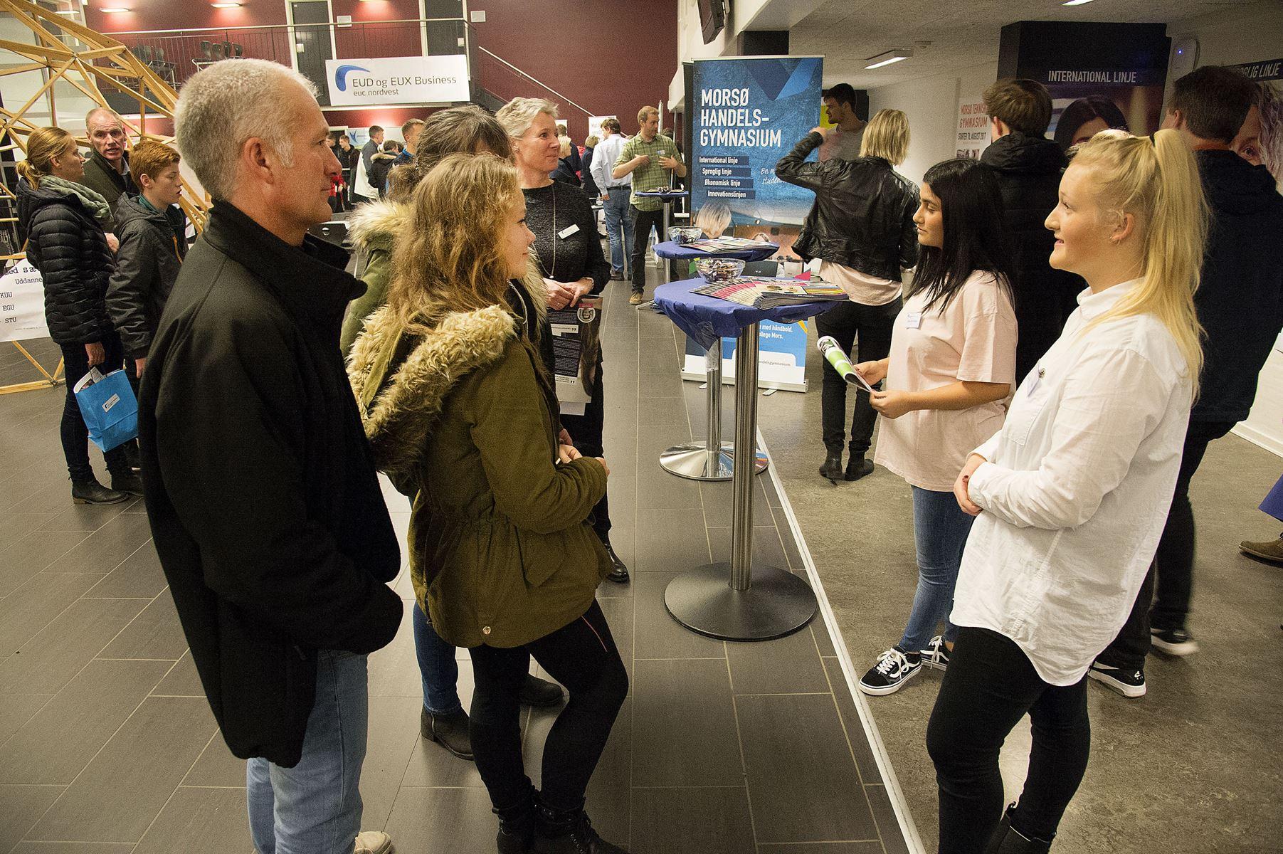 Uddannelses- og Erhvervsmessen afholdes i år i Sparekassen Thy Arena Mors i stedet for på Dueholmskolen