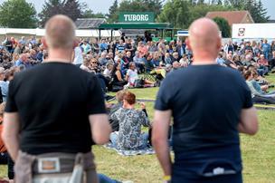 Sommerkoncert i Øster Hurup slår rekord: - Selv om vi måtte tage en regndans, var det perfekt