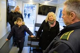 De små glæder: Mobil politistation besøgte Thisted