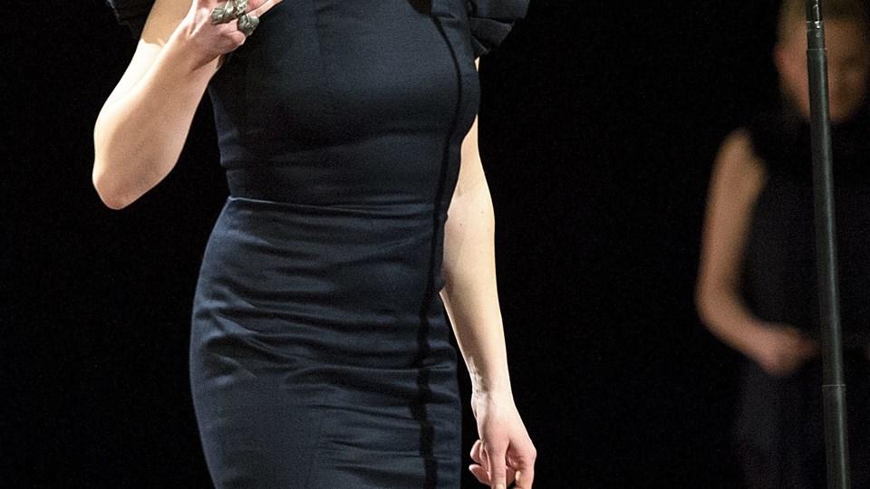 Trine Dyrholm kunne tage to Robertstatuetter med hjem. Foto: Scanpix