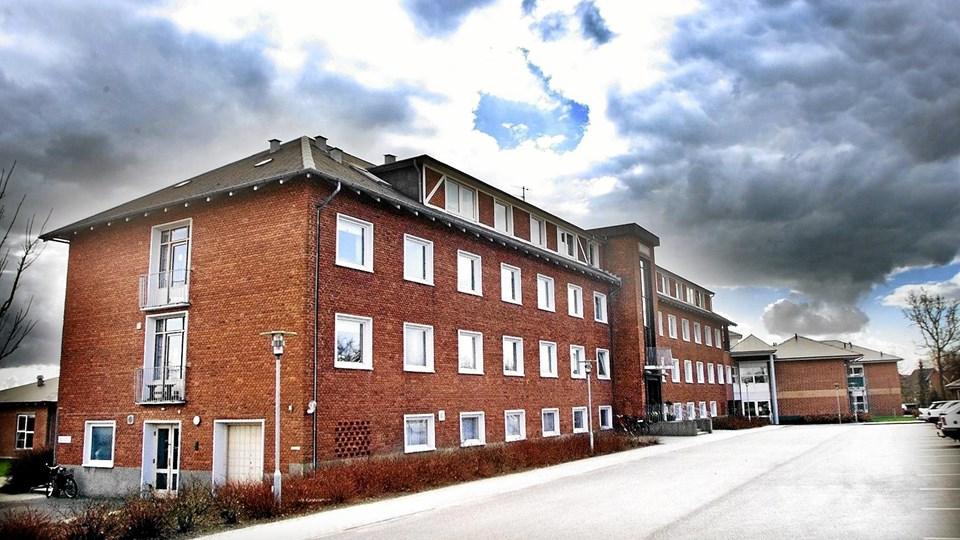 Det kommer formentlig på et tidspunkt Ældrecentret Solvang til gode, at de kommunalt ejede huse ved siden af er blevet overflødige. Arkivfoto: Michael Koch