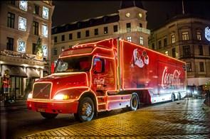 Ren nostalgi: Coca-Cola julelastbilen kommer til Aalborg