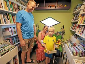 Man kan stadig låne bøger i Dronninglund