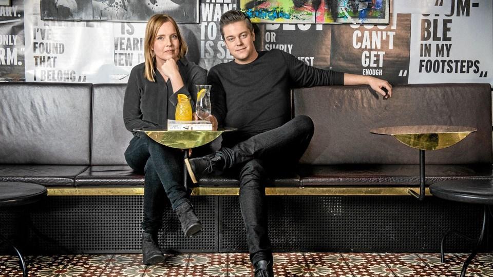 Tiina Nevala og Henrik Karlsson har skrevet en moderne kærlighedshistorie, og det er de sluppet godt fra. Foto: Magnus Liam Karlsson
