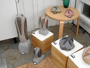 Ny kunst i Galleri Hou