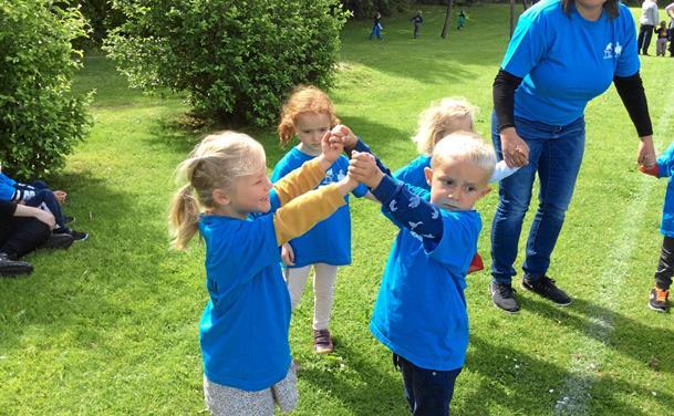 Alle børn i Fjerritslev og omegn holdt Store Legedag