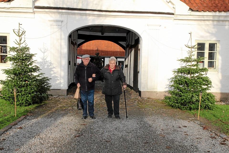Jul på Bratskov er i rigtig gode rammer. Foto: Flemming Dahl Jensen