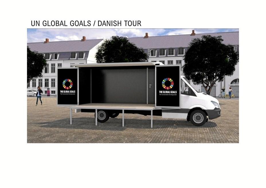 Global Goals Tour gæster Brovst