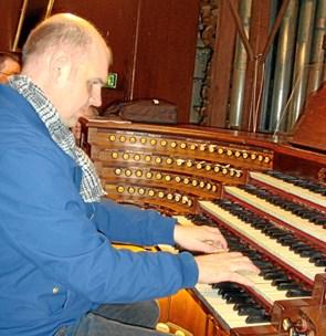 Orgelandagt i Tornby Kirke på tirsdag