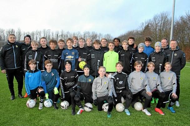 Aabybro IFs drenge spiller med blandt de helt store klubber