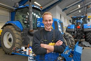 Anders fra Bedsted skal konkurrere om at blive verdens bedste håndværker