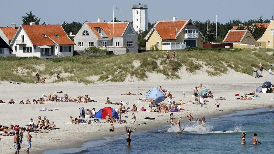 Et af de nye tiltag, der indgår i den nye kommuneplan, er udpegning af strandparker i Skagen, Frederikshavn og Sæby. Idéen med strandparkerne er netop at give mulighed for nye kyst- eller strandrelaterede aktiviteter inden for afgrænsede områder. Arkivfoto: Peter Broen