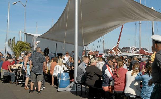 Sjov og stadig større på Strandby Havn