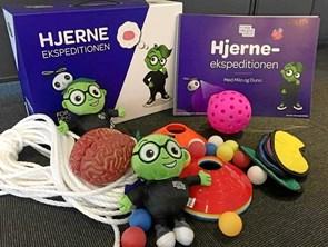 Små børn på hjerneekspedition