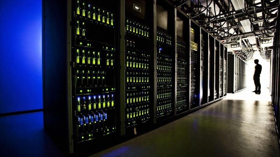 TDC Hosting datacenter Foto: Scanpix/Dennis Lehmann