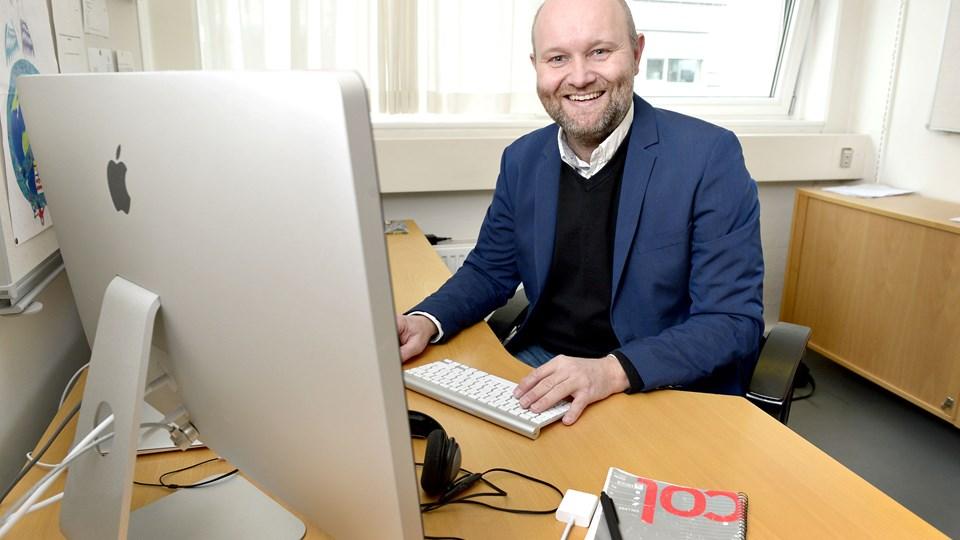 Lasse Riis Østergaard er valgt ind til DGI Nordjyllands bestyrelse. Foto: Bente Poder