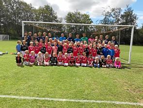 På fodboldskole i Terndrup