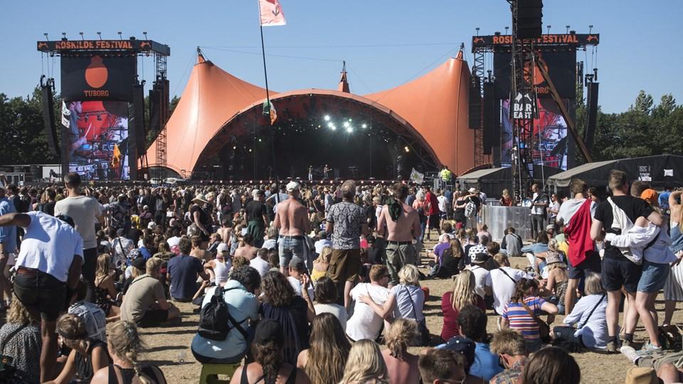 Roskilde Festival afholdes i 2019 fra lørdag 29. juni til lørdag 6. juli. (Arkivfoto)