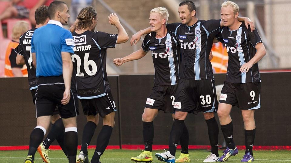 Silkeborg IF tabte 0-2 til SønderjyskE. Foto: Bo Amstrup/Scanpix