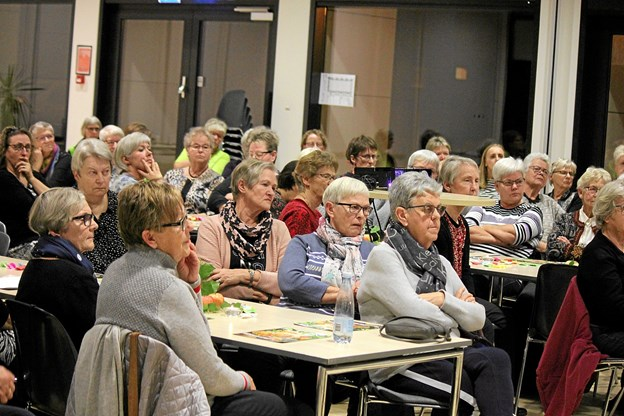 Der var samlet over 80 personer til julehygge. Foto: Flemming Dahl Jensen Flemming Dahl Jensen