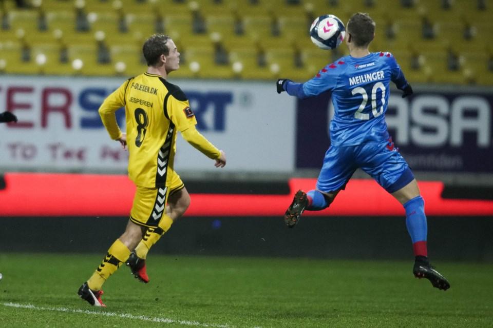 AC Horsens mod AaB på Casa Arena i Horsens. Sæsonafslutning i Superligaen. Foto: Henrik Bo