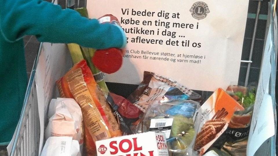 Hjælp med at fylde indkøbsvognen på lørdag... Foto: Privat