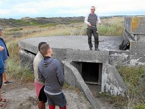 Så er Bunkergruppen klar til rundvisninger i Tversted